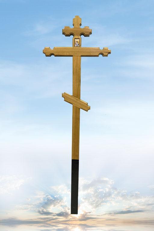 """Крест дуб """"Резной"""""""