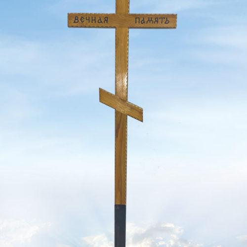 """Крест дуб """"Вечная память резной"""""""
